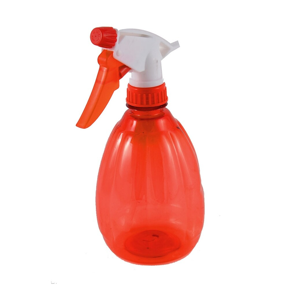 Unique Bargains 500ml 0.5L Hairdressing Watering Water Trigger Sprayer Spray Bottle Red (Red)