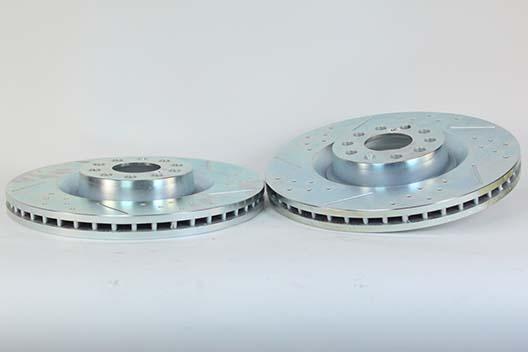Baer Brakes Rotor Pair Volkswagen