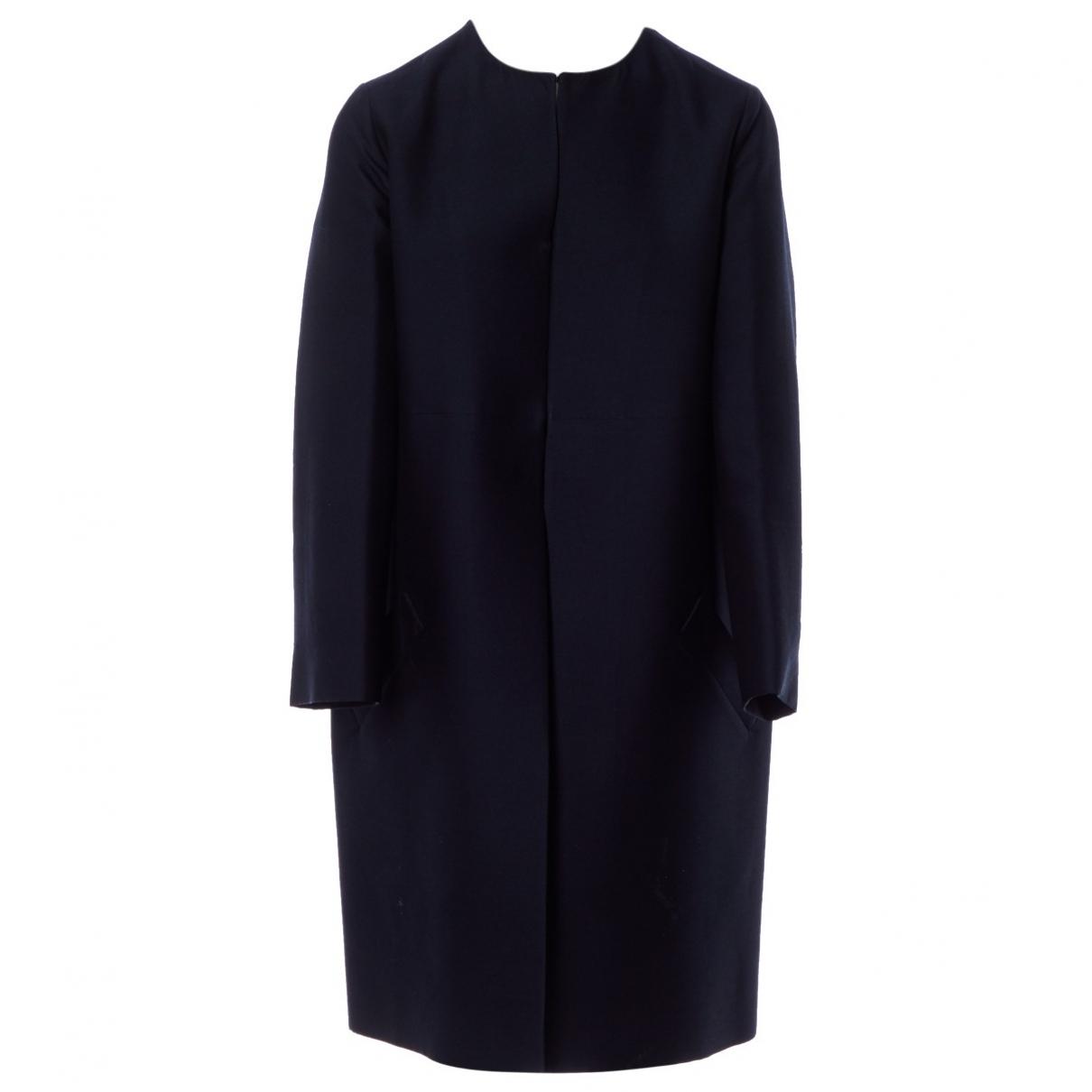Yves Saint Laurent \N Maentel in  Marine Wolle