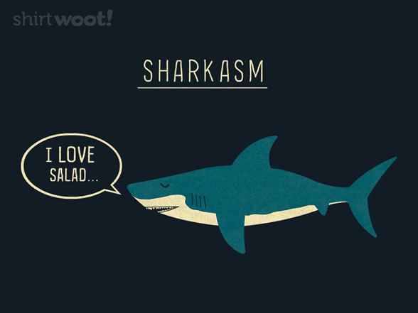 Sharkasm T Shirt