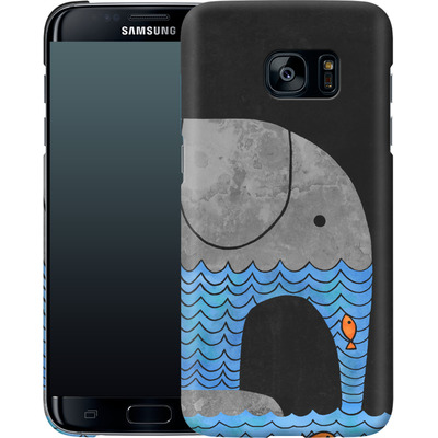 Samsung Galaxy S7 Edge Smartphone Huelle - Thirsty Elephant von Terry Fan