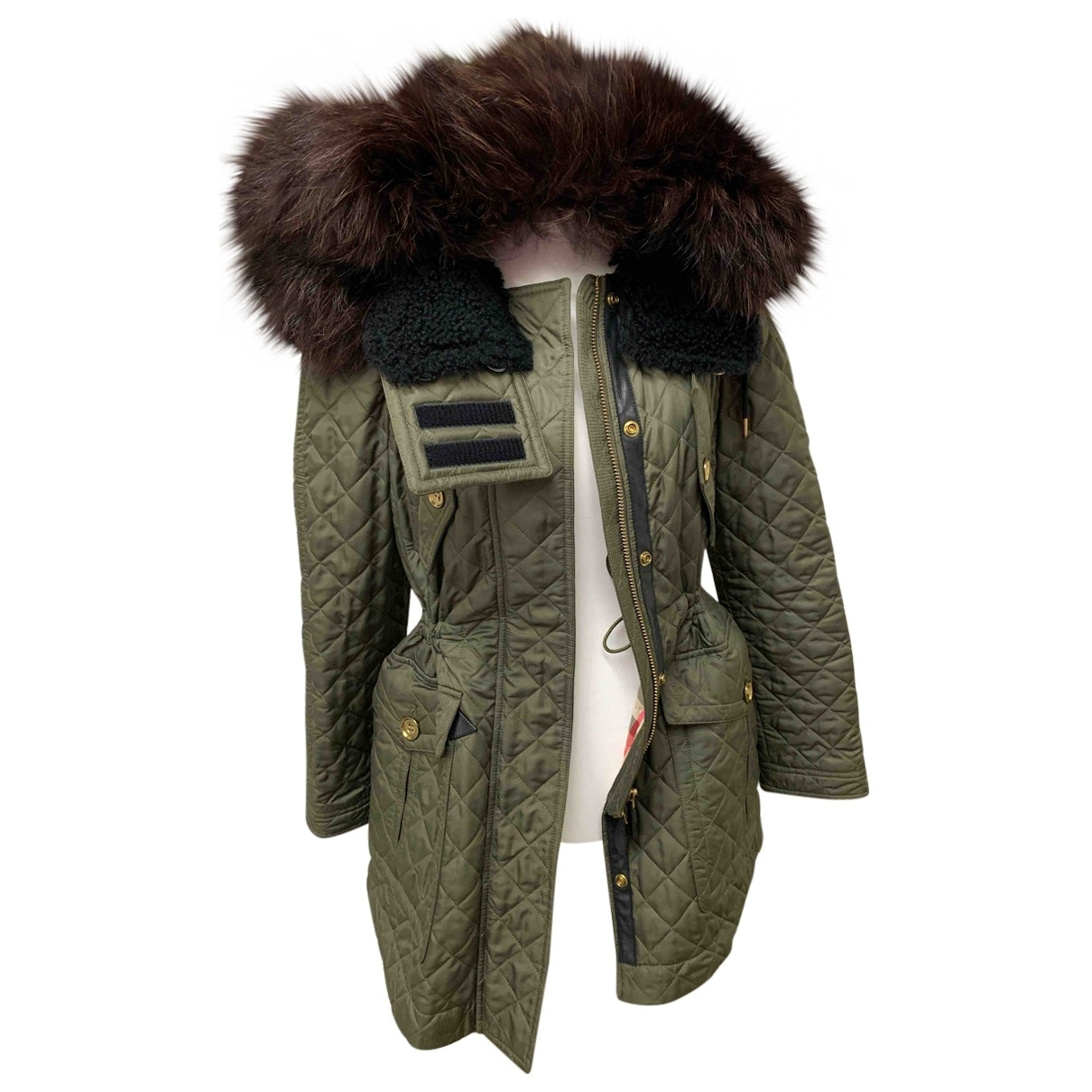 Burberry \N Khaki coat for Women XS