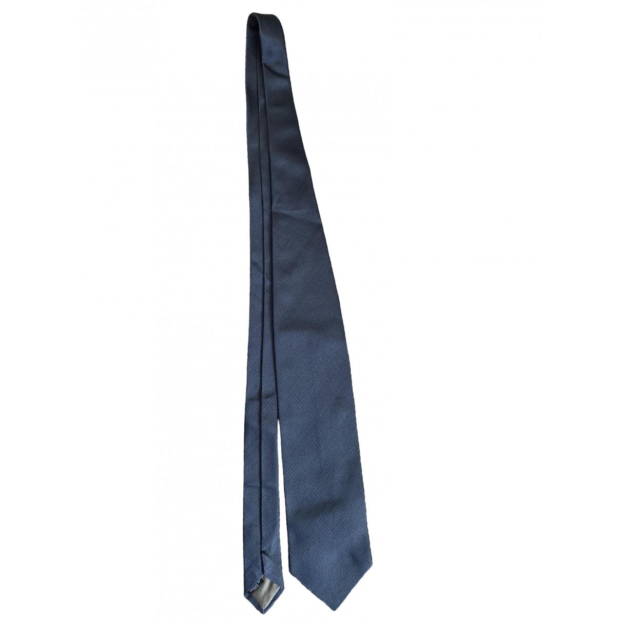 Emporio Armani - Cravates   pour homme en soie - anthracite
