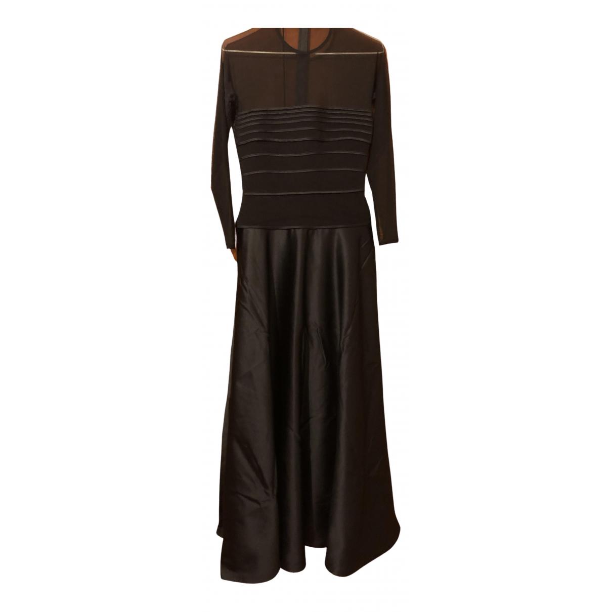 Tadashi Shoji \N Kleid in  Schwarz Synthetik
