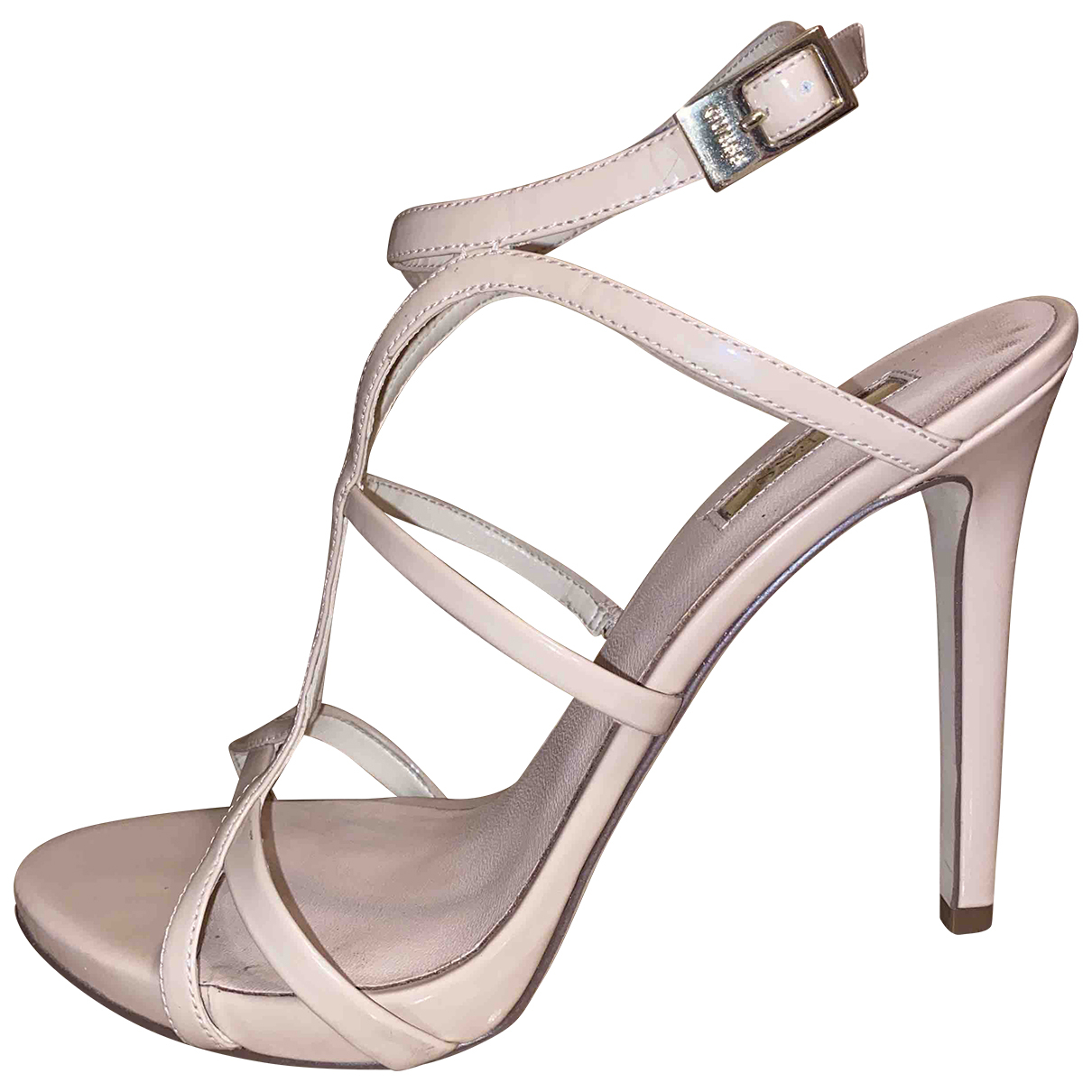 Sandalias romanas de Cuero Guess