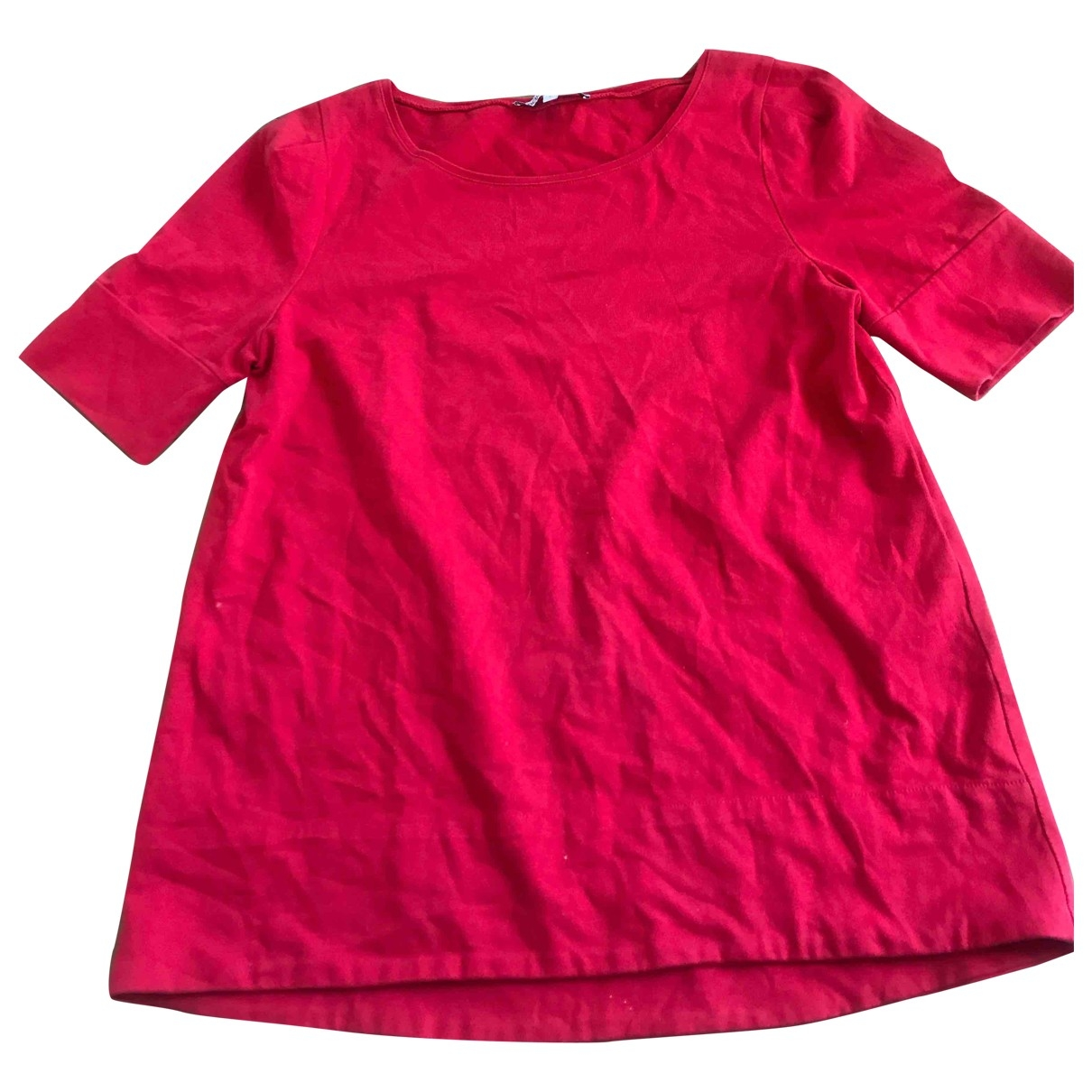 Maje \N Red Cotton  top for Women 2 US