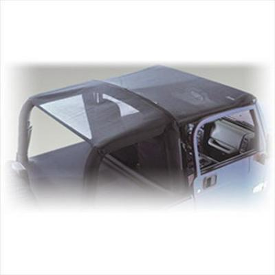 Rugged Ridge Mesh Roll Bar Top (Black) - 13579.01