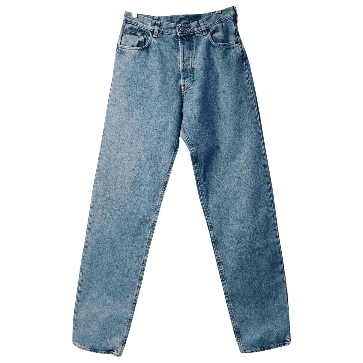 Calvin Klein \N Blue Cotton Jeans for Women 33 US