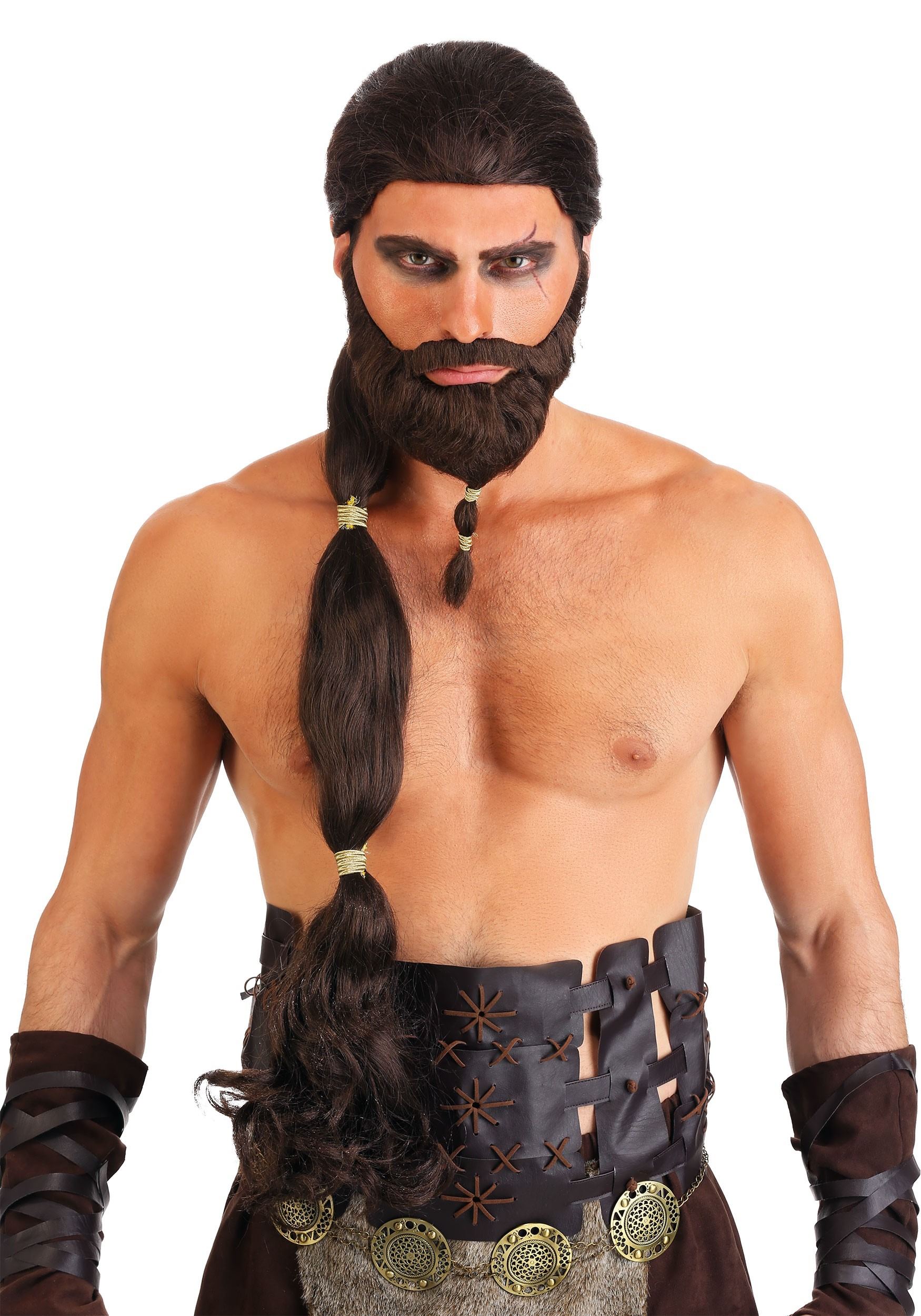 King Warrior Wig and Beard