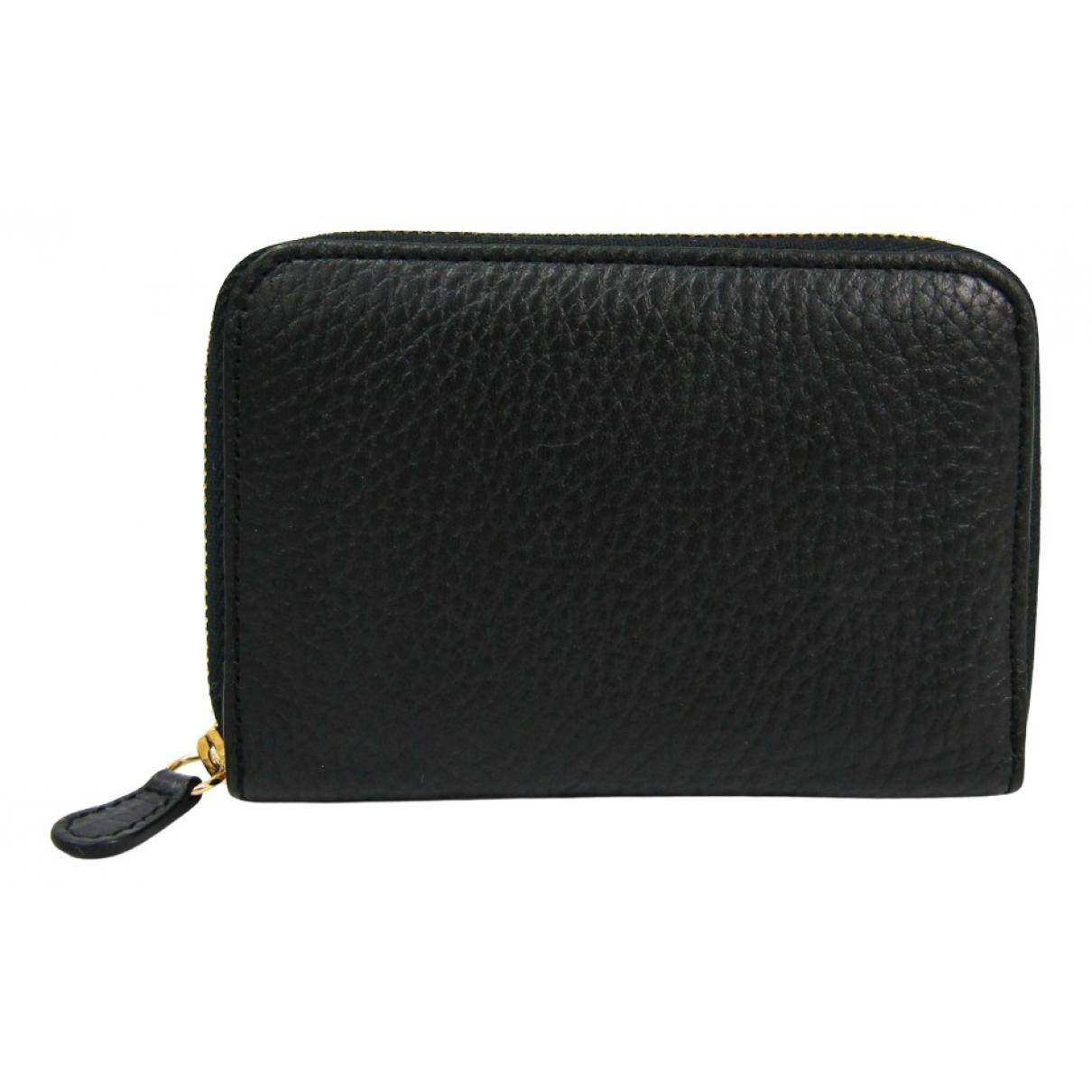 J & M Davidson - Portefeuille   pour femme en cuir - noir