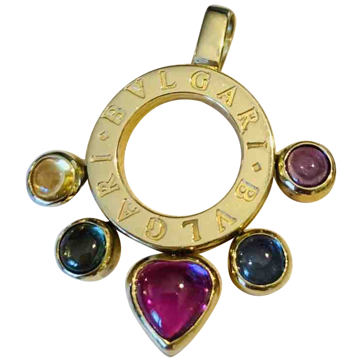 Bvlgari Allegra Multicolour Yellow gold pendant for Women \N