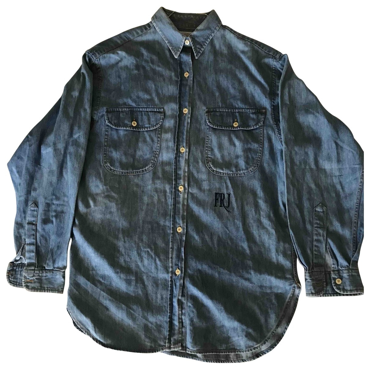 Gianfranco Ferre \N Top in  Blau Denim - Jeans