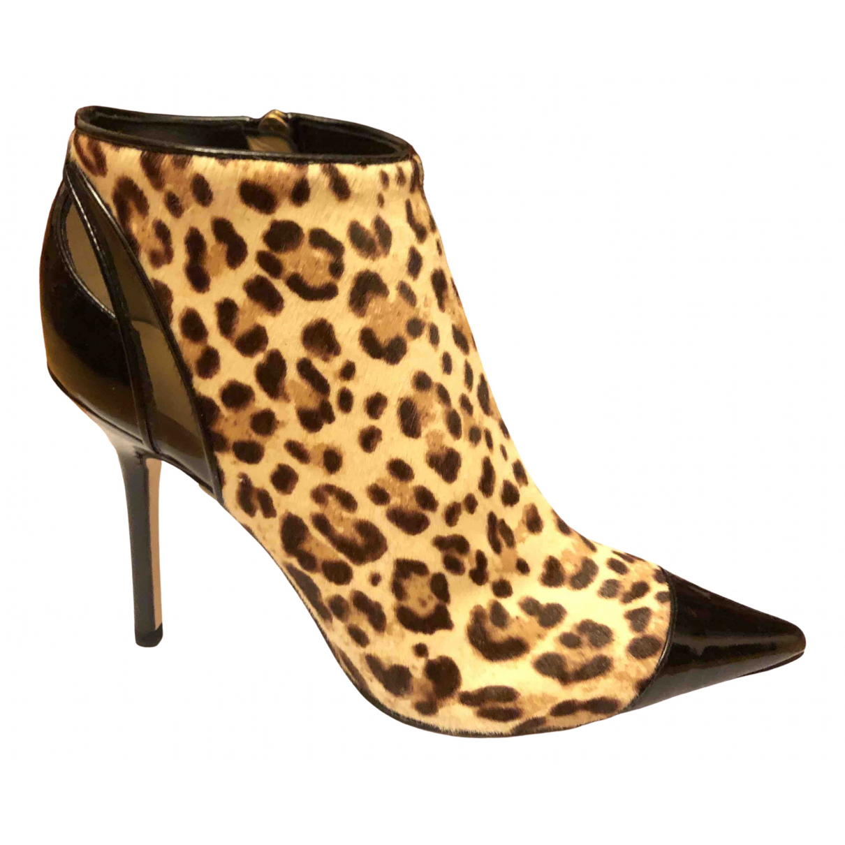 Jimmy Choo \N Multicolour Pony-style calfskin Ankle boots for Women 35 IT