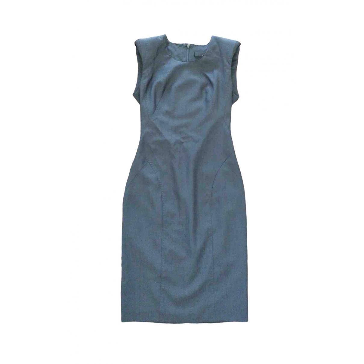 Amanda Wakeley \N Kleid in  Grau Wolle