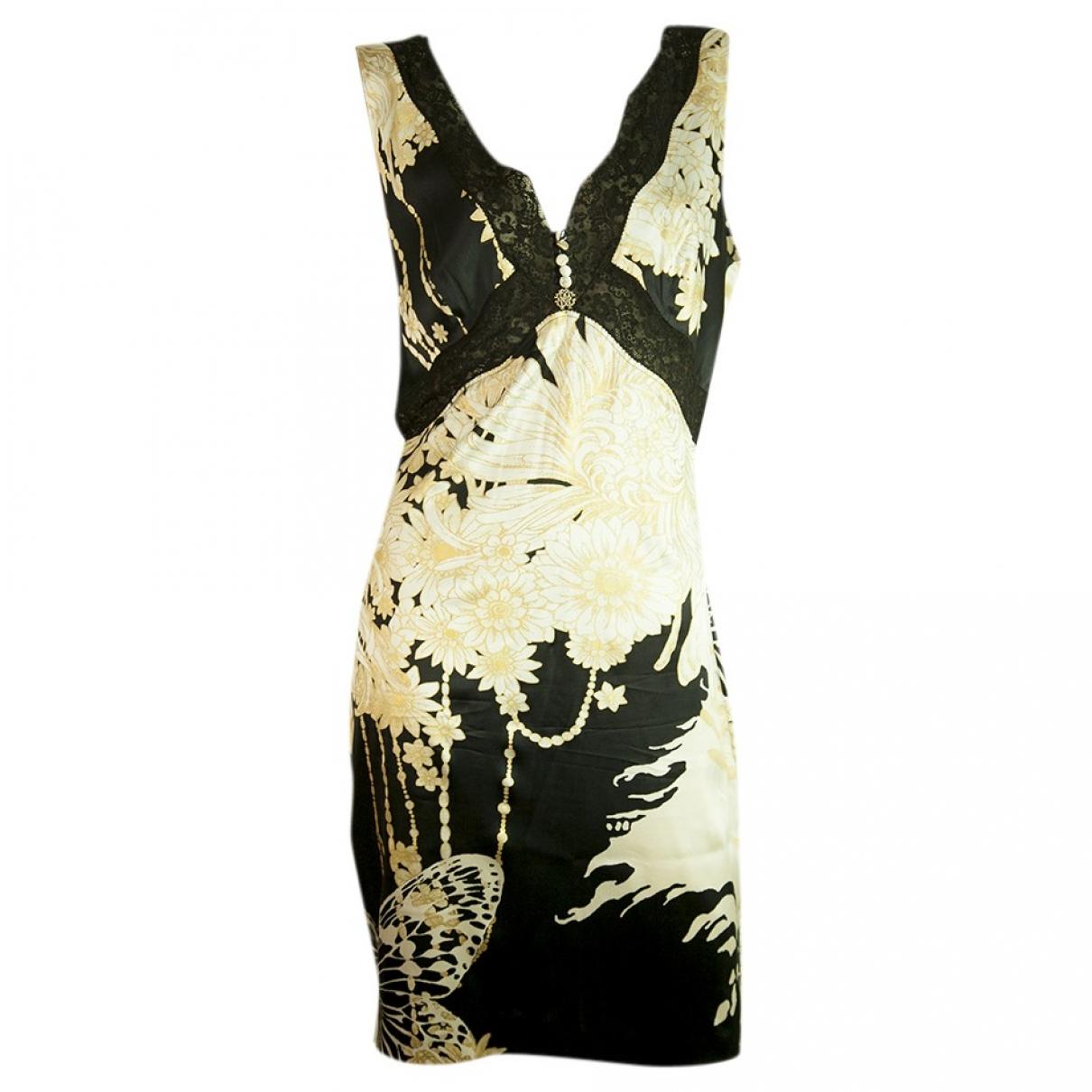 Roberto Cavalli \N Multicolour Silk dress for Women 44 IT