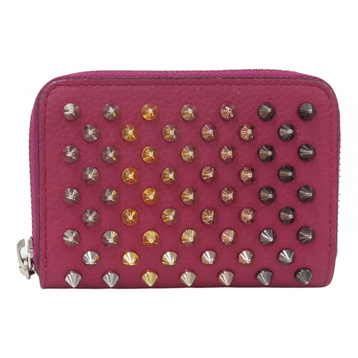 Christian Louboutin N Pink Leather Purses, wallet & cases for Women N