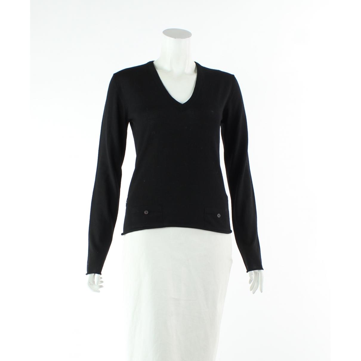 Burberry \N Jumpsuit in  Schwarz Wolle