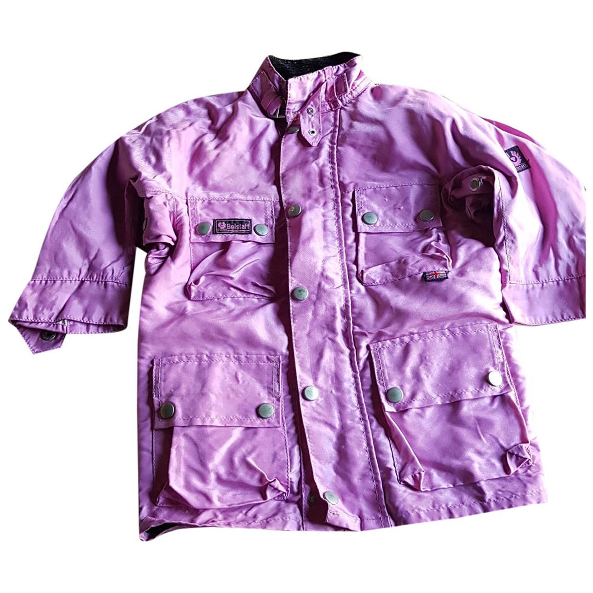 Belstaff - Blousons.Manteaux   pour enfant - rose