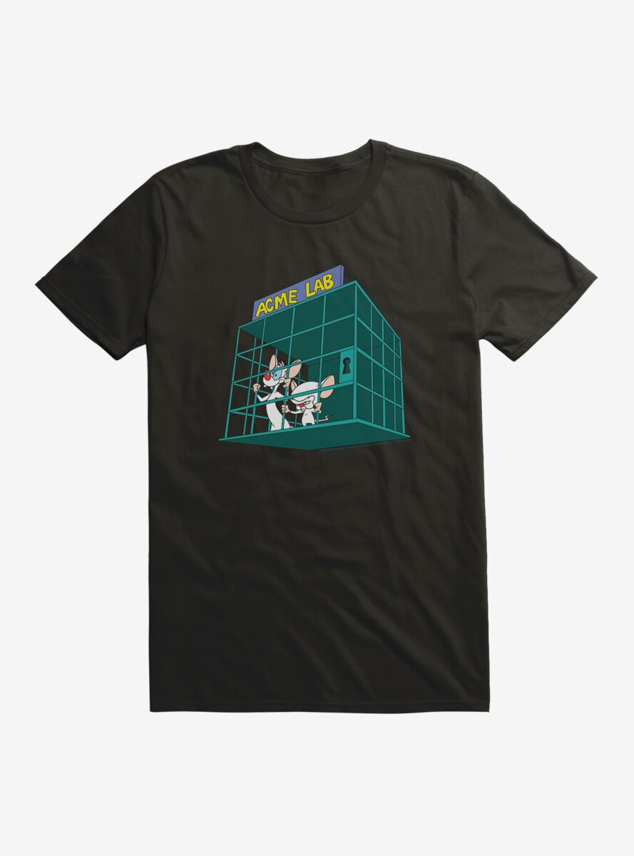 Animaniacs Pinky And The Brain Acme Lab T-Shirt
