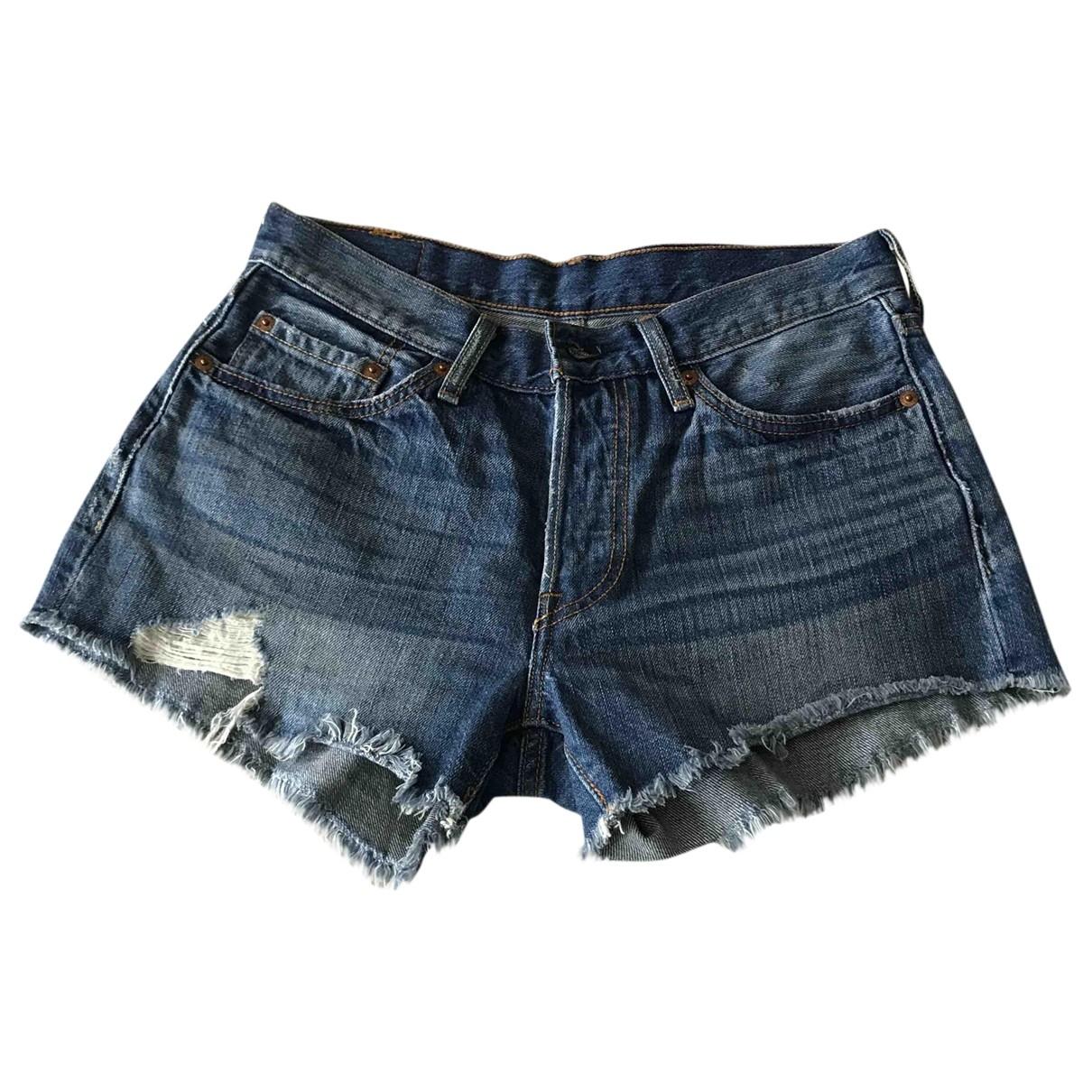 Levi's \N Blue Denim - Jeans Shorts for Women S International