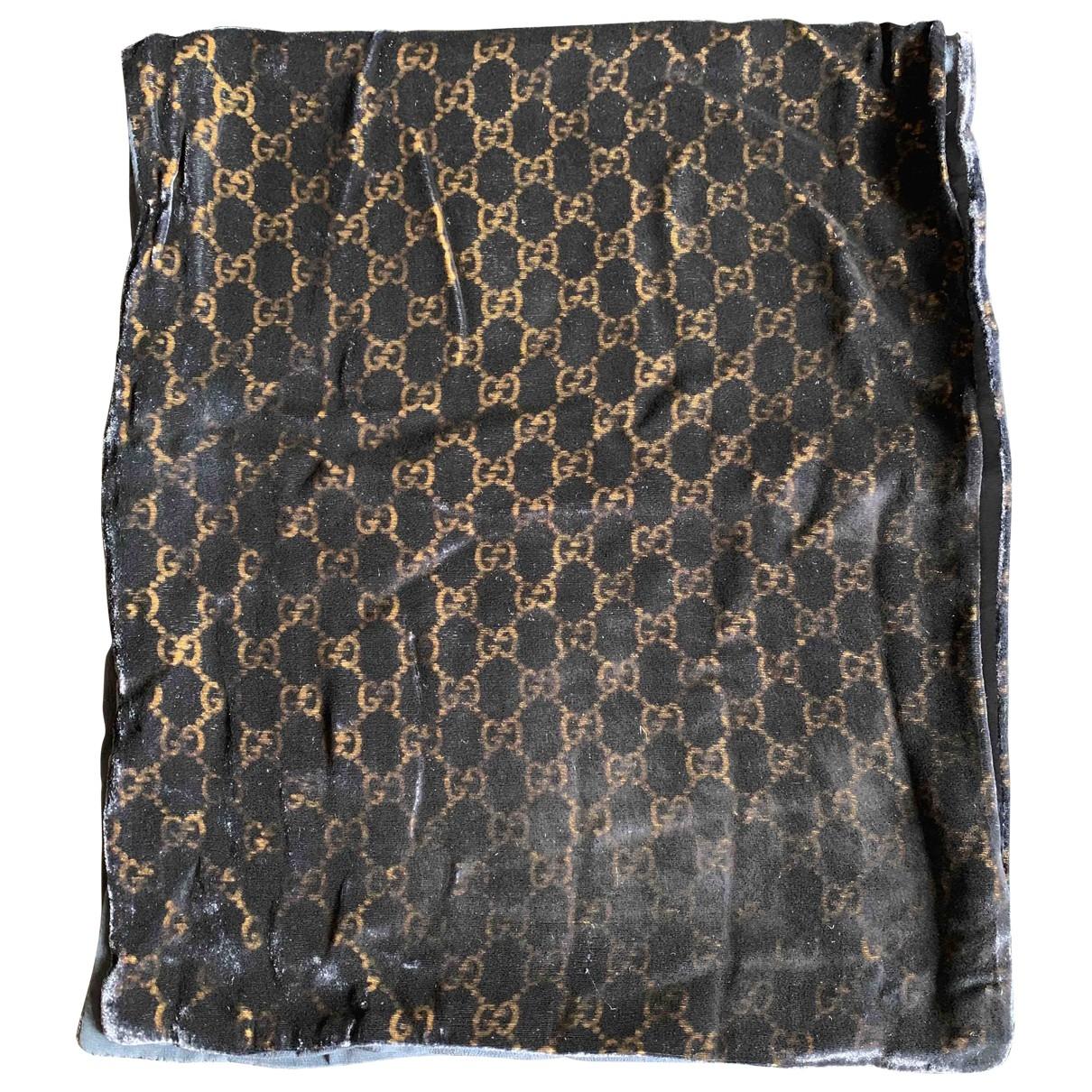 Gucci \N Blue Velvet scarf & pocket squares for Men \N