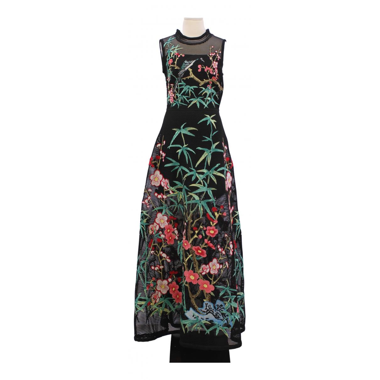 Vivienne Tam \N Kleid in  Bunt Synthetik