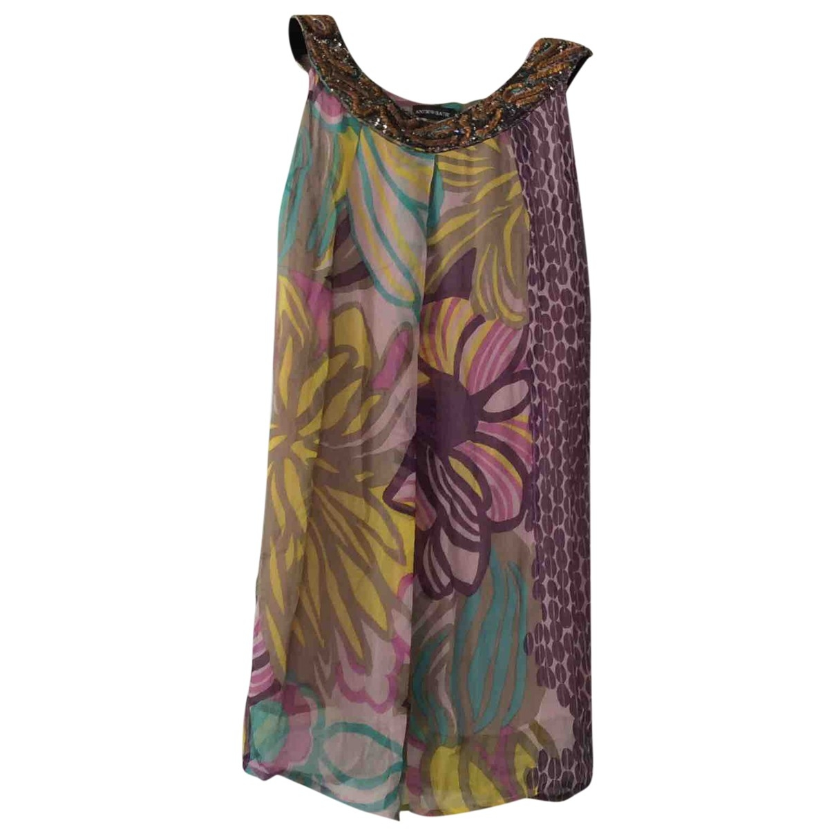 Antik Batik \N Multicolour Silk dress for Women M International
