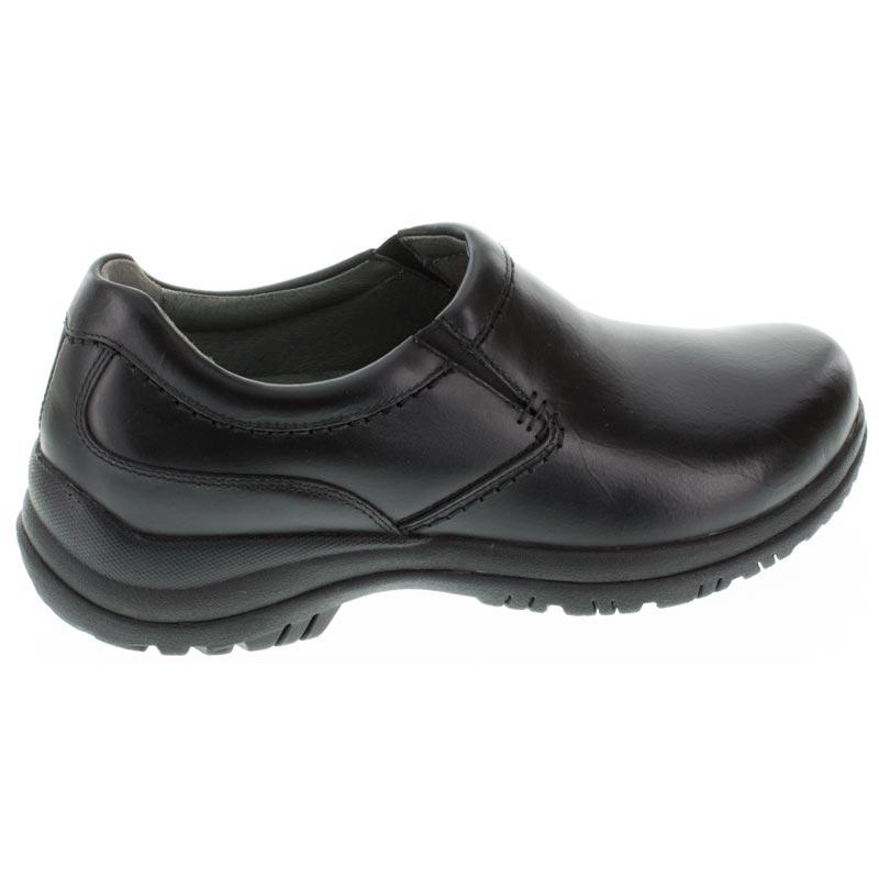 Dansko Wynn Black Leather Slip-Resistant 48