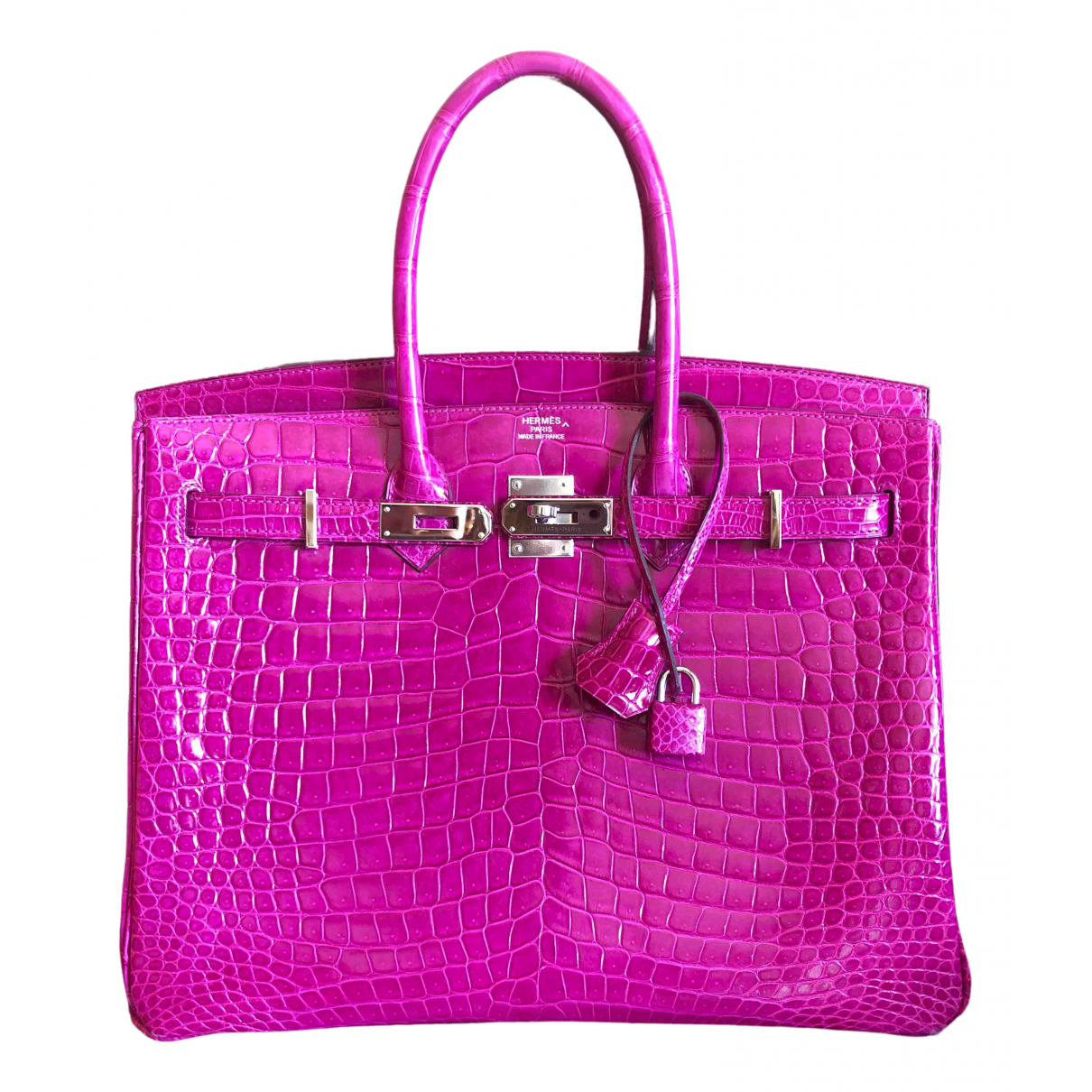 Hermès Birkin 35 Crocodile handbag for Women \N
