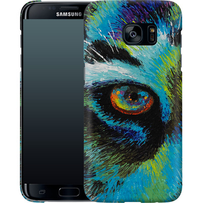 Samsung Galaxy S7 Edge Smartphone Huelle - Will Cormier - Tiger Eyes von TATE and CO