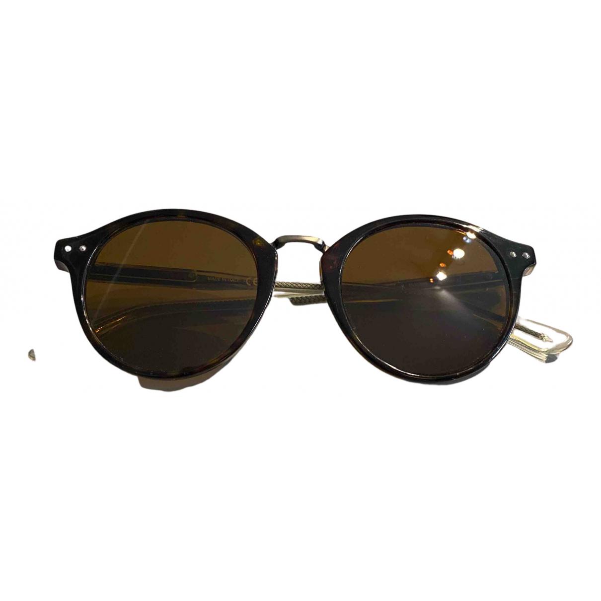 Bottega Veneta \N Sonnenbrillen in  Braun Kunststoff