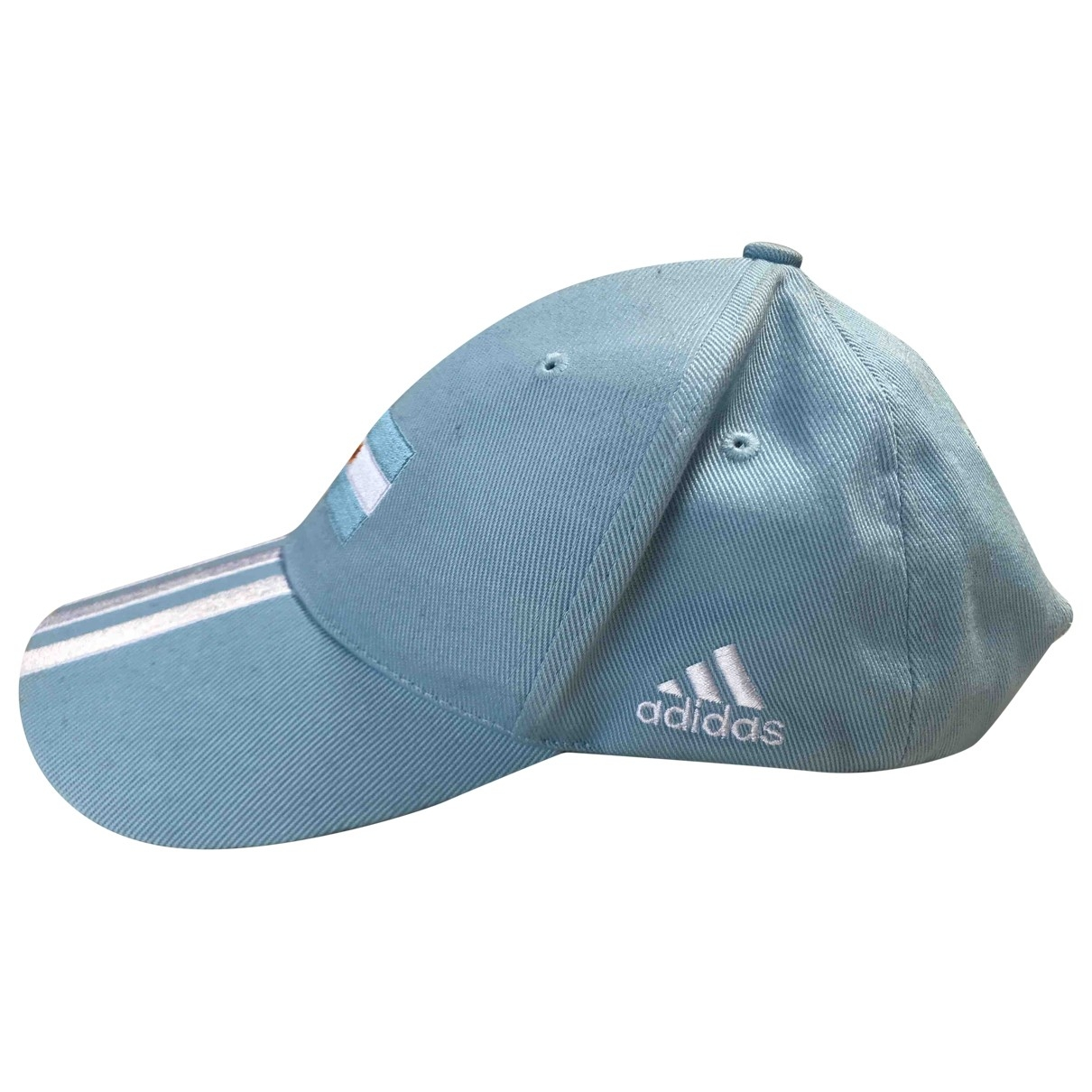 Adidas - Chapeau   pour femme en coton - bleu