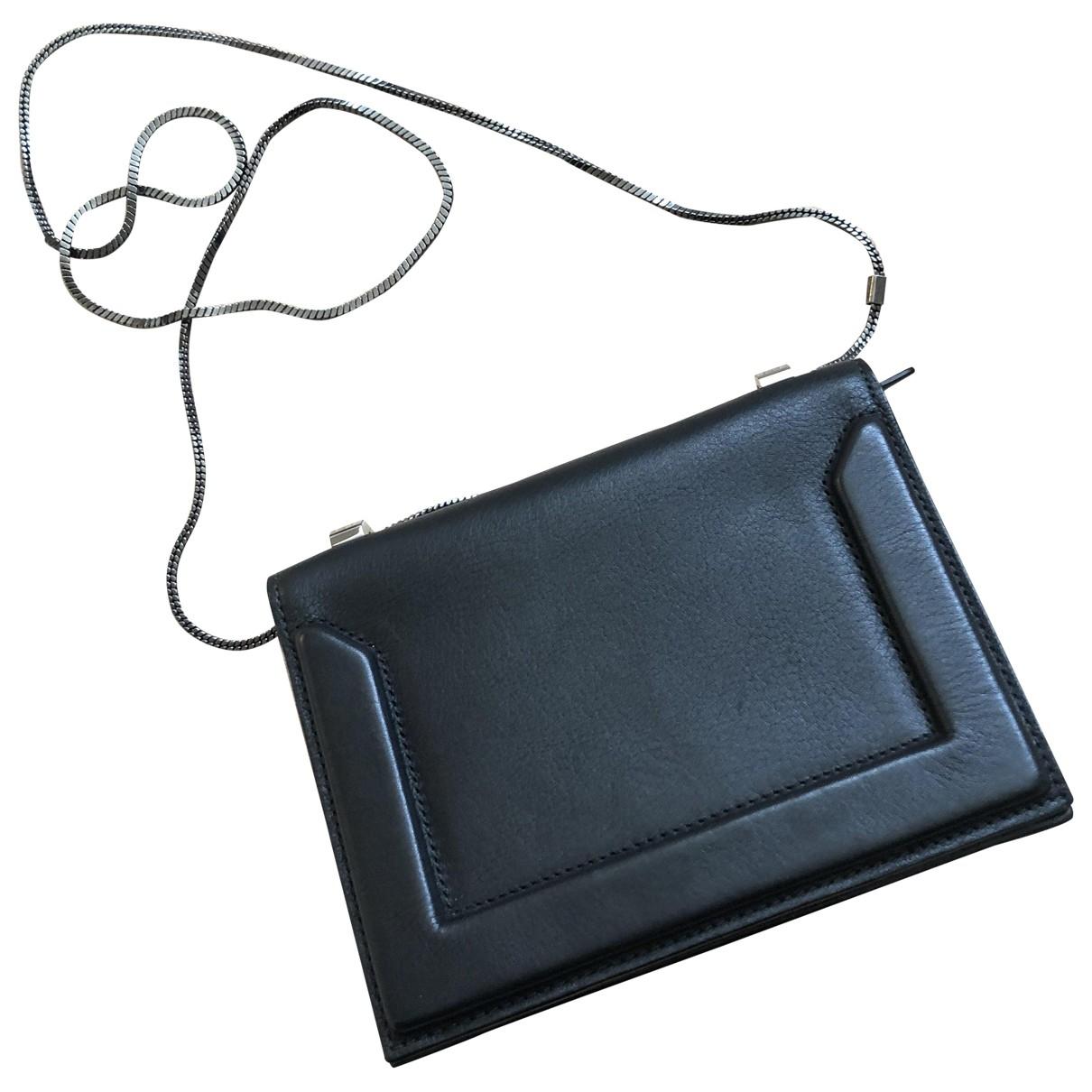 3.1 Phillip Lim \N Black Leather handbag for Women \N