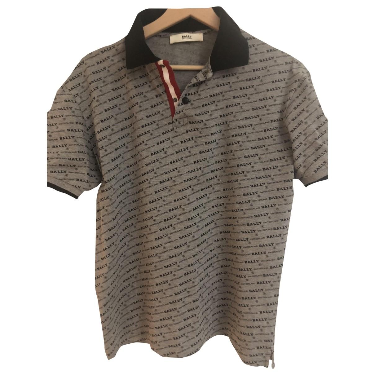 Bally \N Poloshirts in  Grau Baumwolle