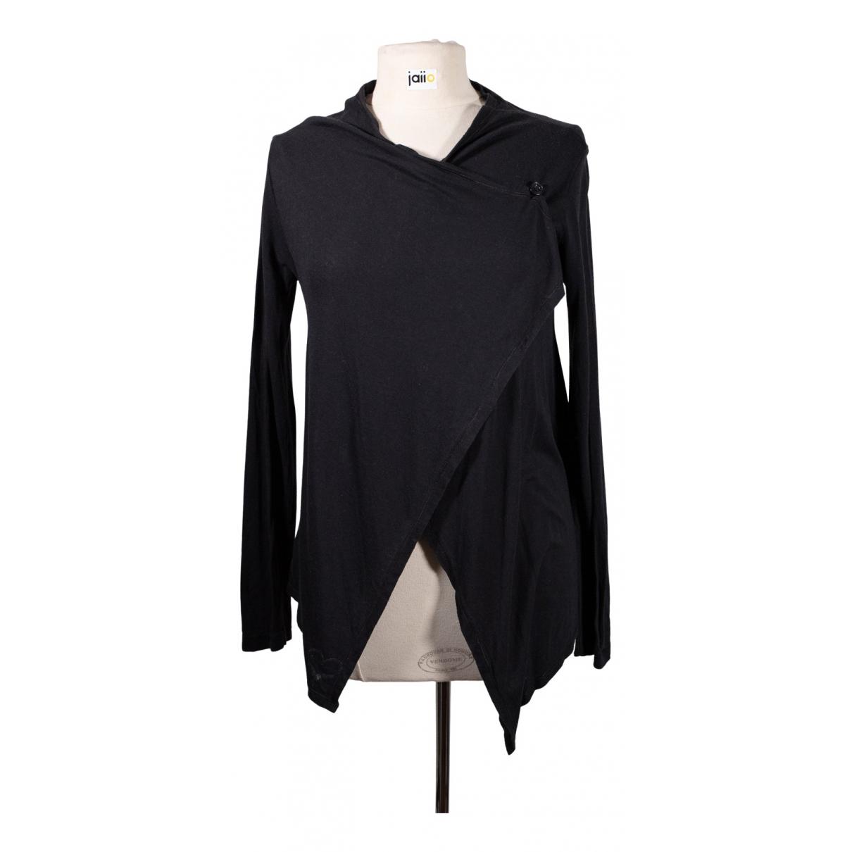 Berenice \N Black Cotton  top for Women 36 FR