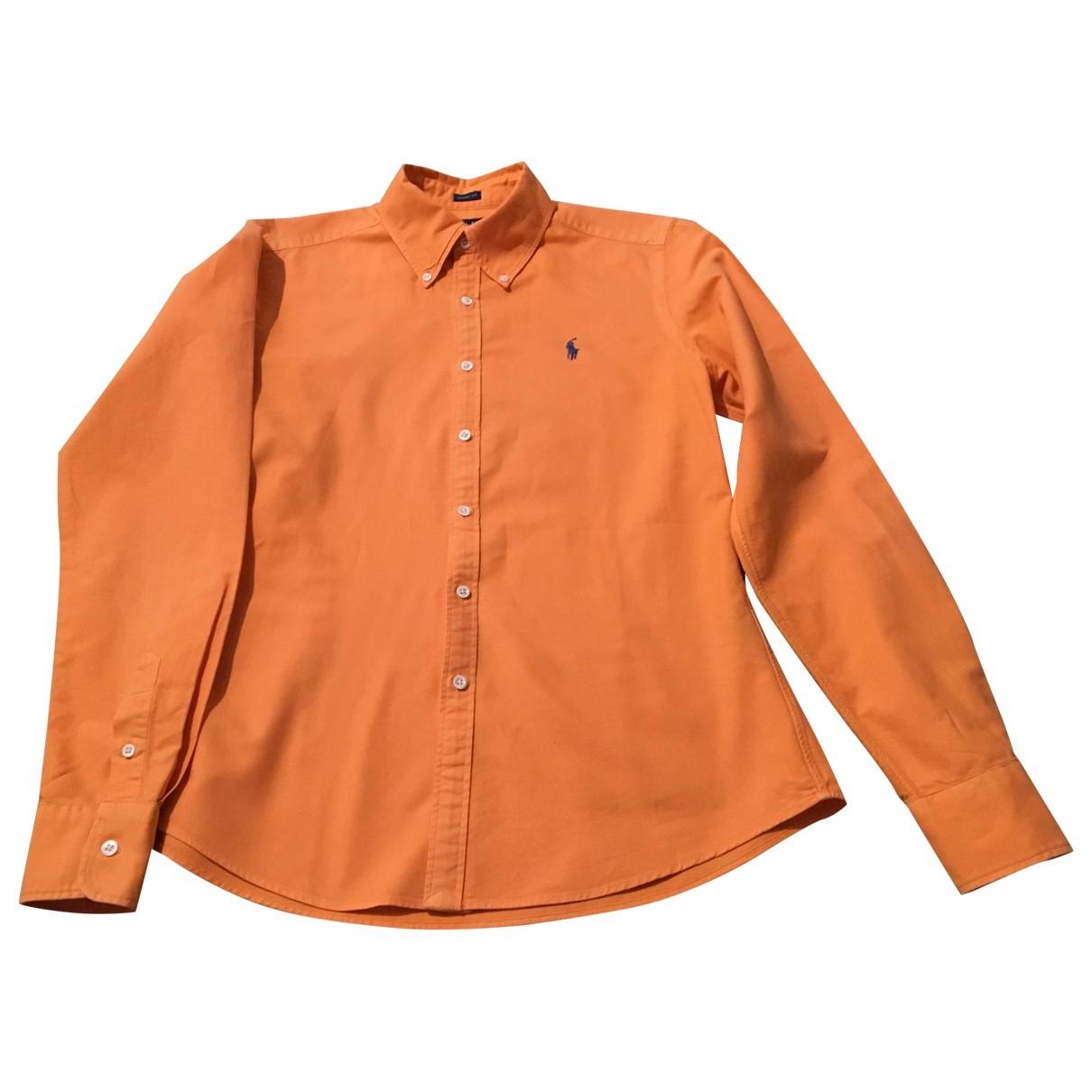 Ralph Lauren \N Top in  Orange Baumwolle