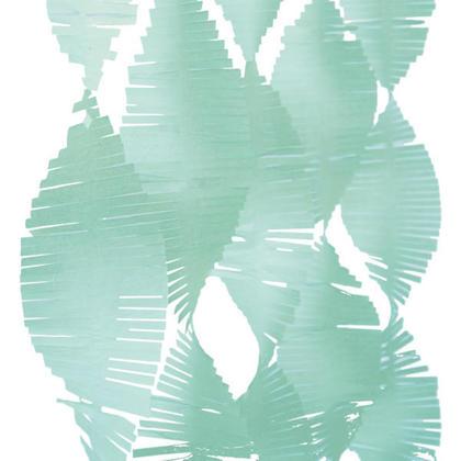 Party Streamers Papier de soie Frange Garland 9 ft - Menthe