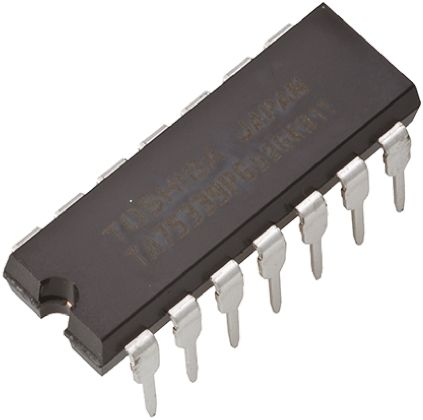 Toshiba TC74HC14AP(F), , Hex Schmitt Trigger CMOS Inverter, 14-Pin PDIP (5)