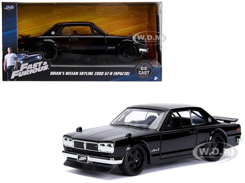 Brians Nissan Skyline 2000 GT-R (KPGC10) Black