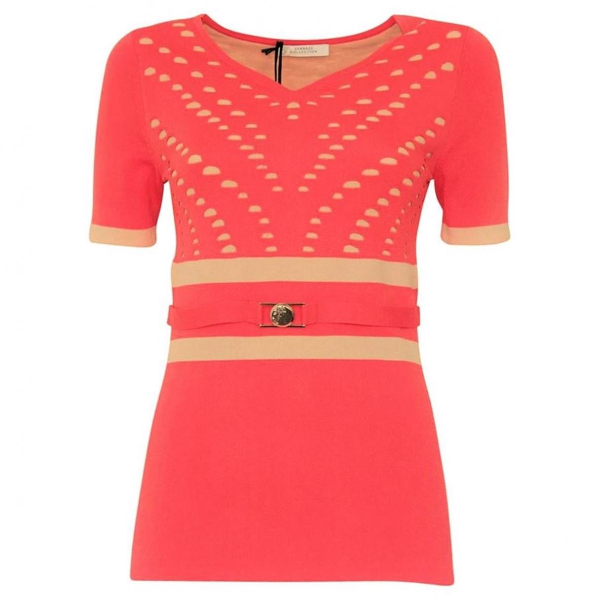 Versace \N Top in  Rot Viskose
