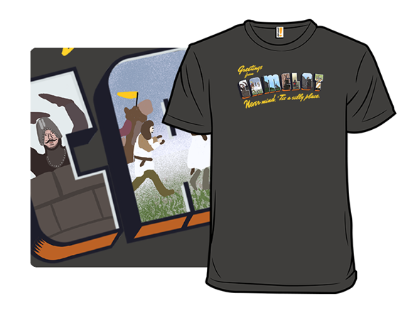 Greetings From Camelot! T Shirt