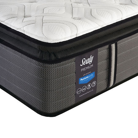 Sealy Pershing Plush Pillowtop - Mattress Only, One Size , White
