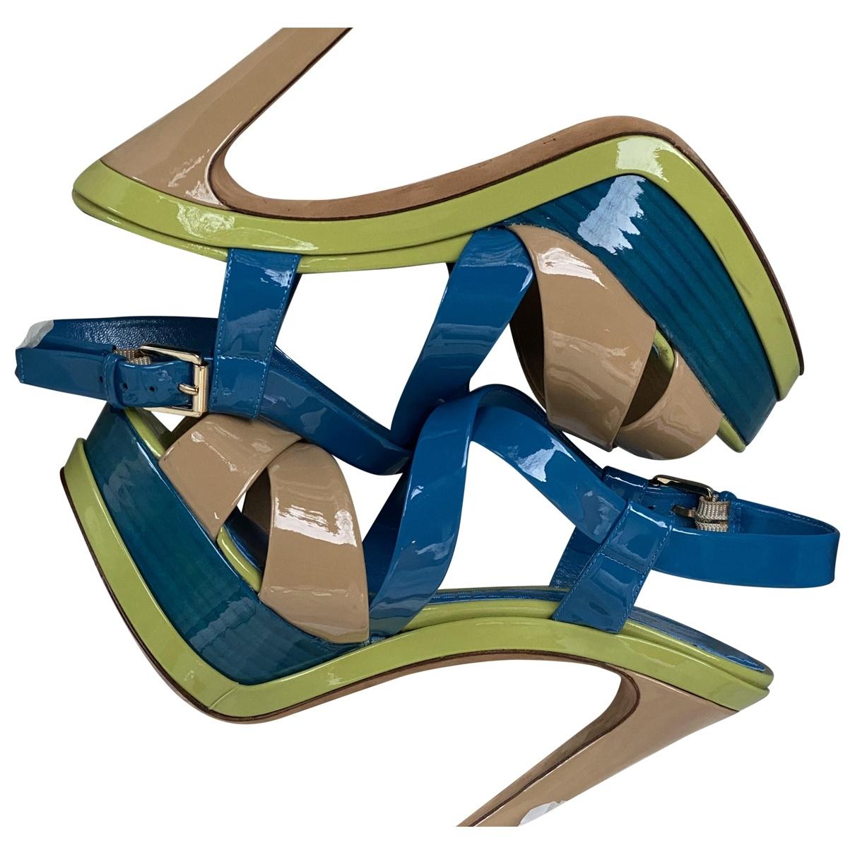 Dior \N Sandalen in  Bunt Lackleder