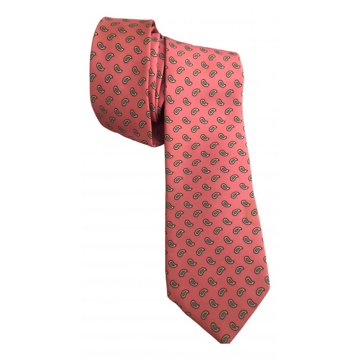 Ralph Lauren Purple Label - Cravates   pour homme en soie - rose