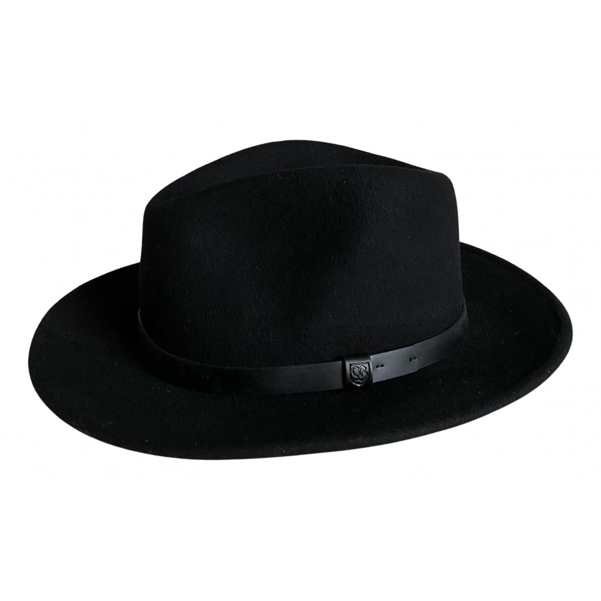 Brixton - Chapeau & Bonnets   pour homme en laine - noir
