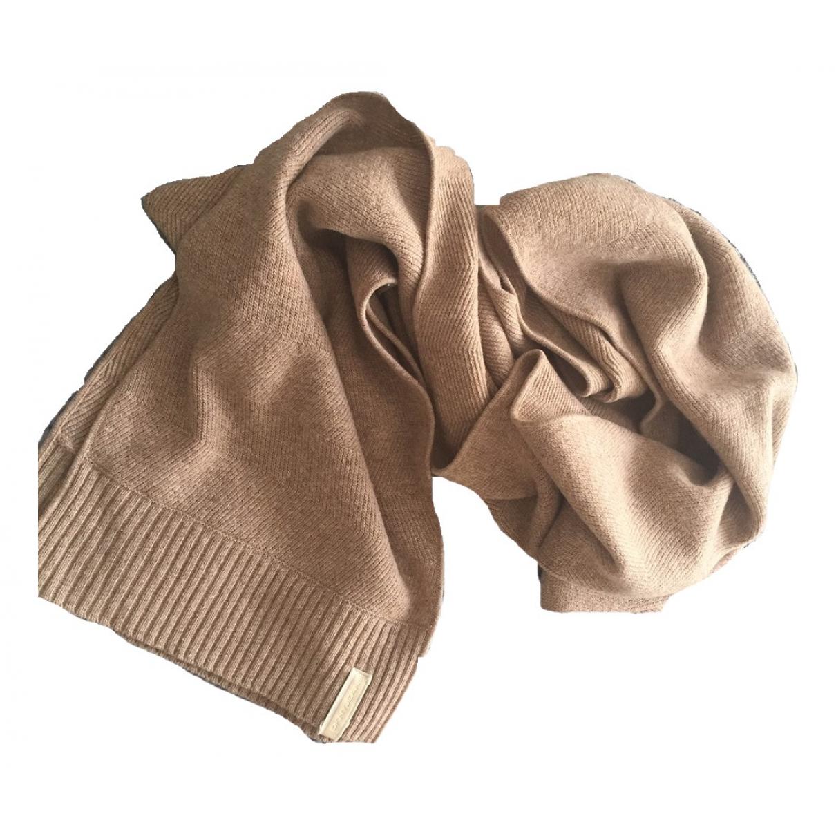 Dkny - Foulard   pour femme en laine - beige