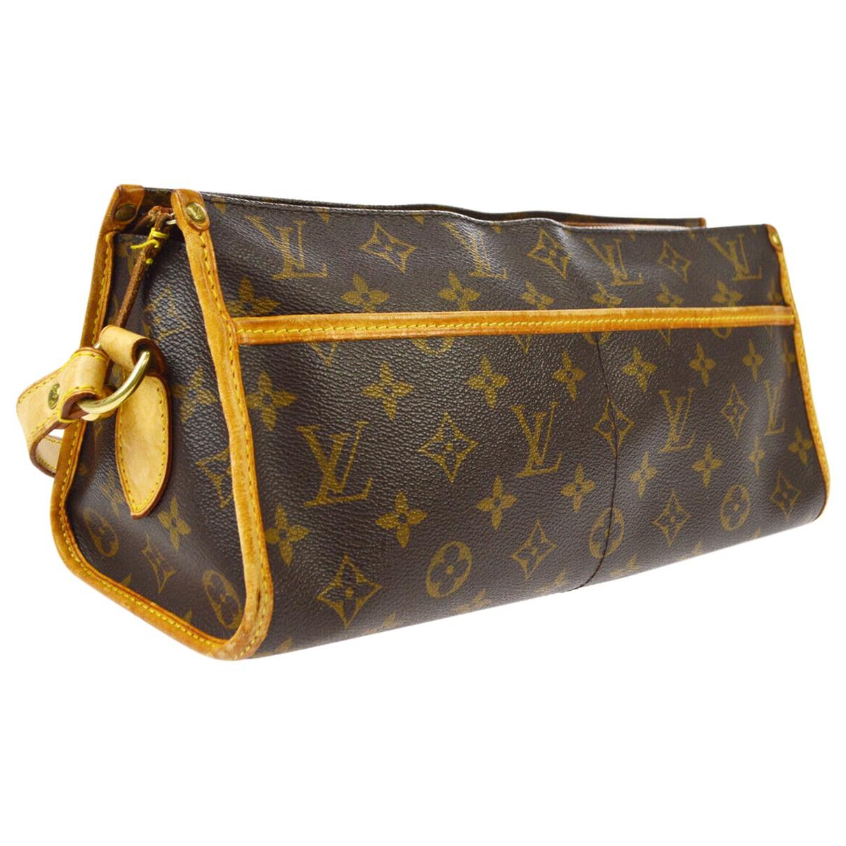 Louis Vuitton Popincourt Brown Cloth handbag for Women \N