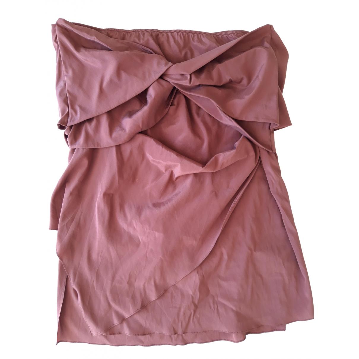 Gucci \N Brown Silk skirt for Women 42 FR