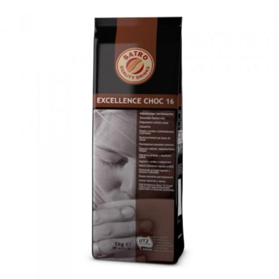 "Heisse Schokolade Pulver Satro ""Exellence Choc 16"", 1 kg"