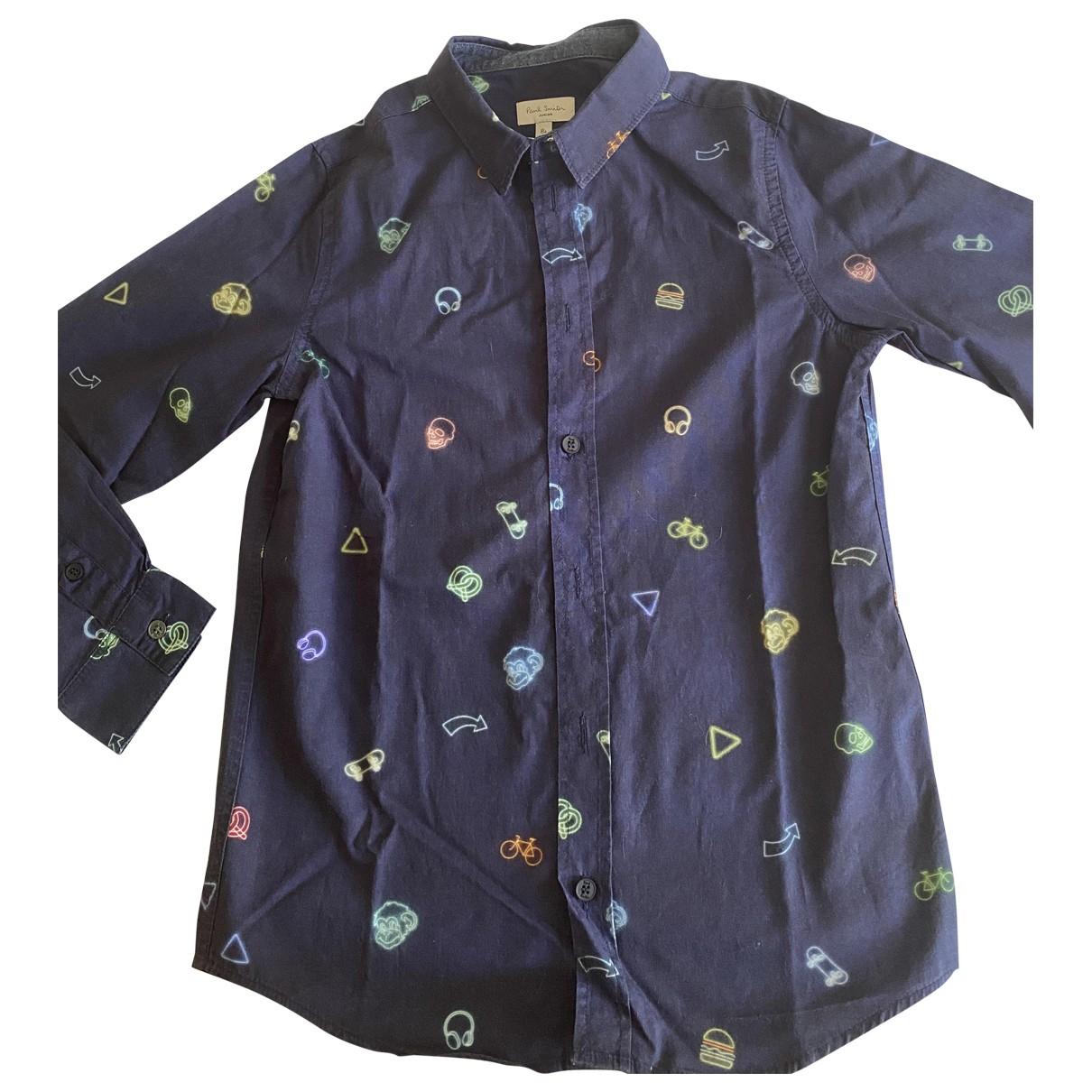 Paul Smith - Top   pour enfant en coton - bleu